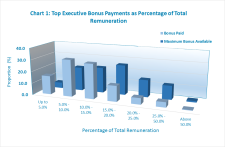 Top Executive Bonus payments represent just 71.7 percent of the maximum Bonus available
